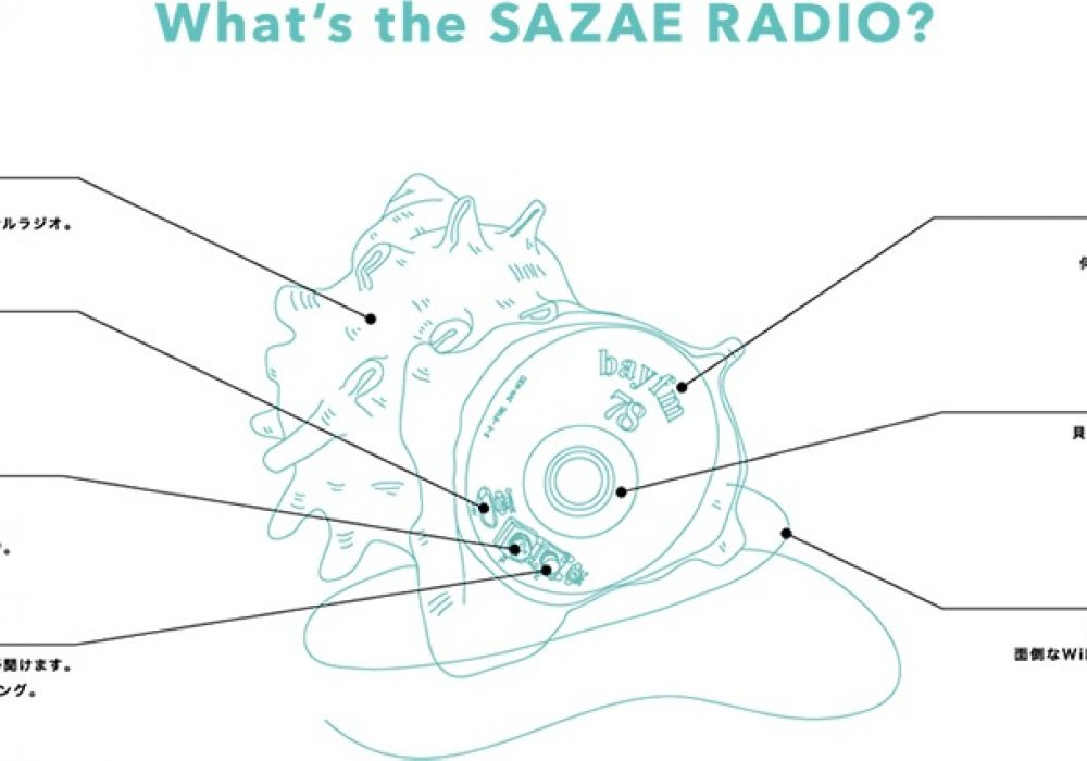 Bay fm Sazae Radio Fun thing to have for Music