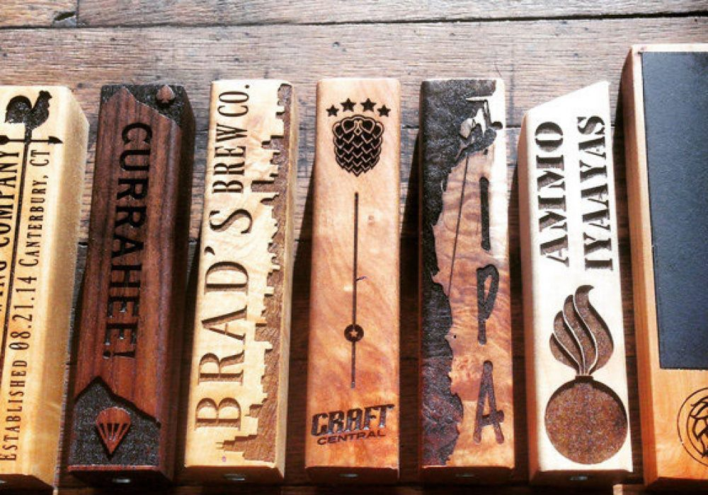 Bearded Boy Design Beer Tap Handle Cool Gift for Dad