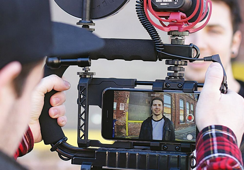 Beastgrip Universal Lens Adapter & Rig System for Smartphones Works with Any Camera Phone