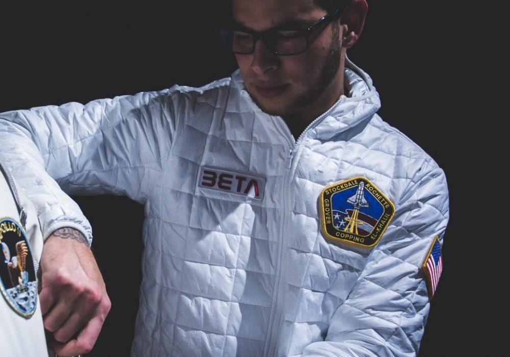 Betabrand Space Jacket Tyvek in Fashion