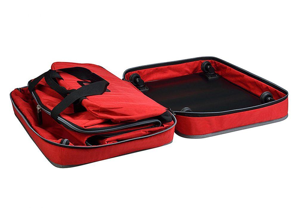 Biaggi Zipsak 4 Wheel Microfold Suitcase Travel Item
