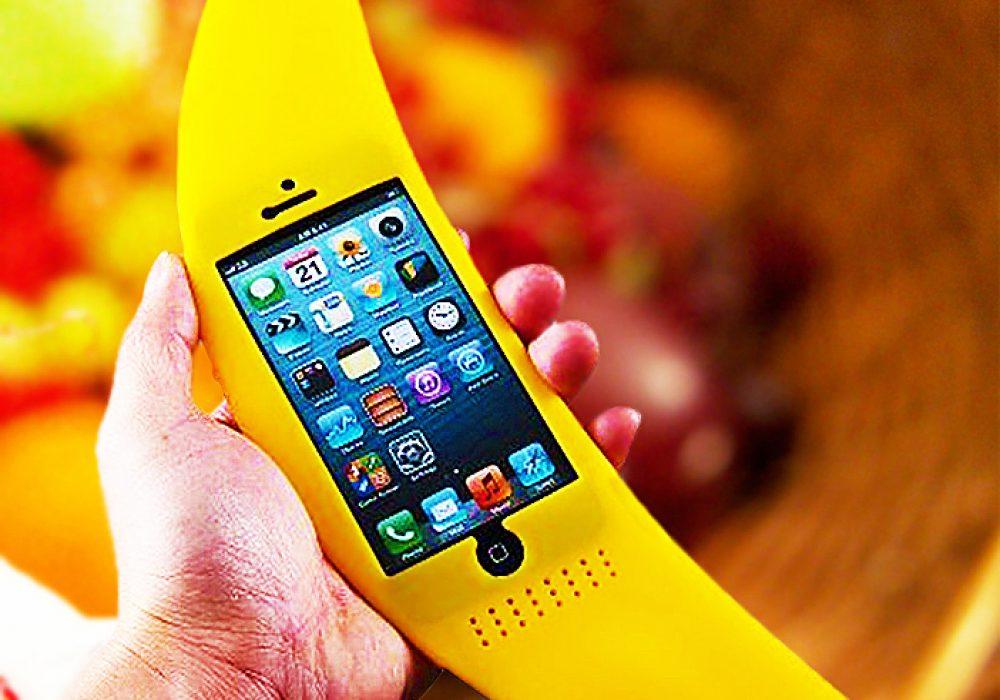 Big Banana iPhone Case Buy Cute Novelty Items