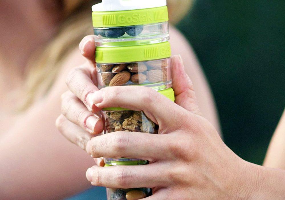 Blender Bottle Go Stak Twist N' Lock Storage Jars Cool Container