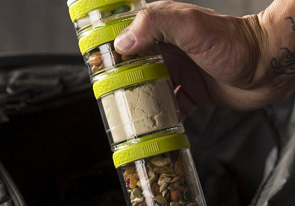 Blender Bottle Go Stak Twist N' Lock Storage Jars Gift for Outgoer