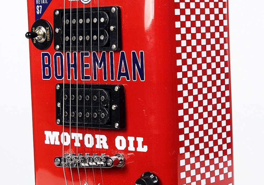 Bohemian Guitars Boho Motor Oil Recycled Metal Hollow Body