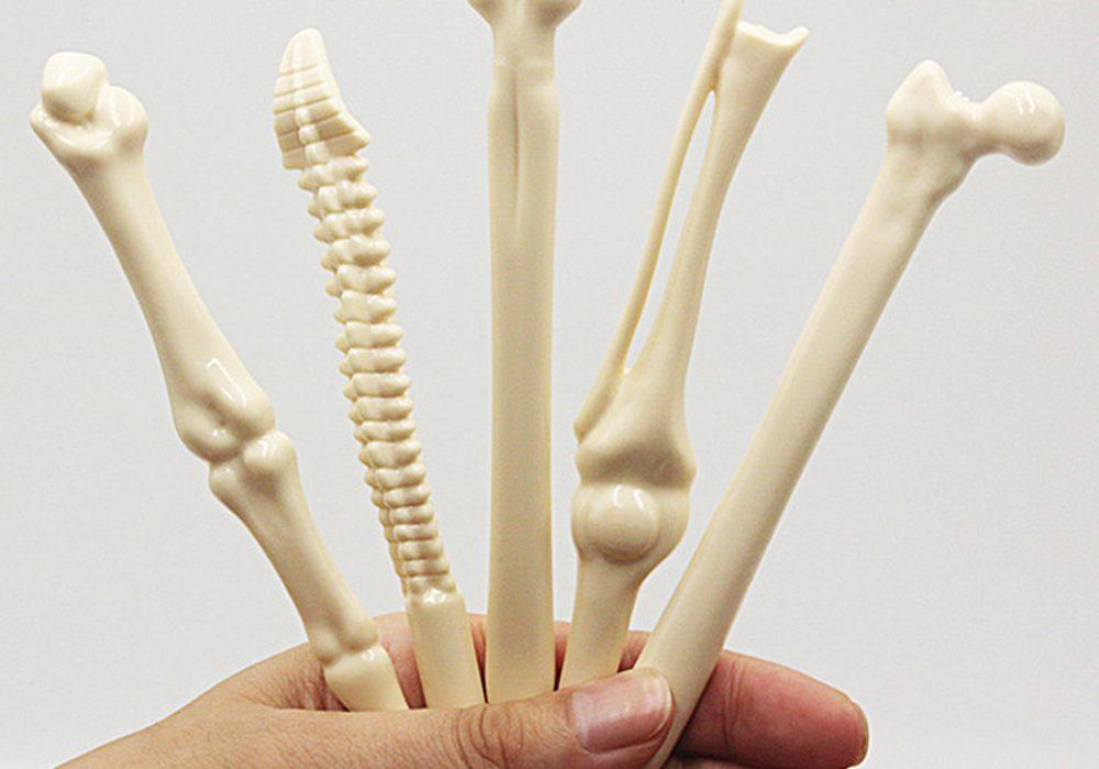 Bone Shaped Pens Plastic