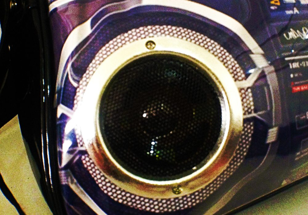 Boom Box Speaker Bag Real Sound System
