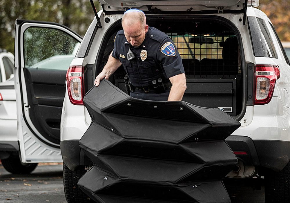 Brigham Young University Bulletproof Origami Shield Kevlar