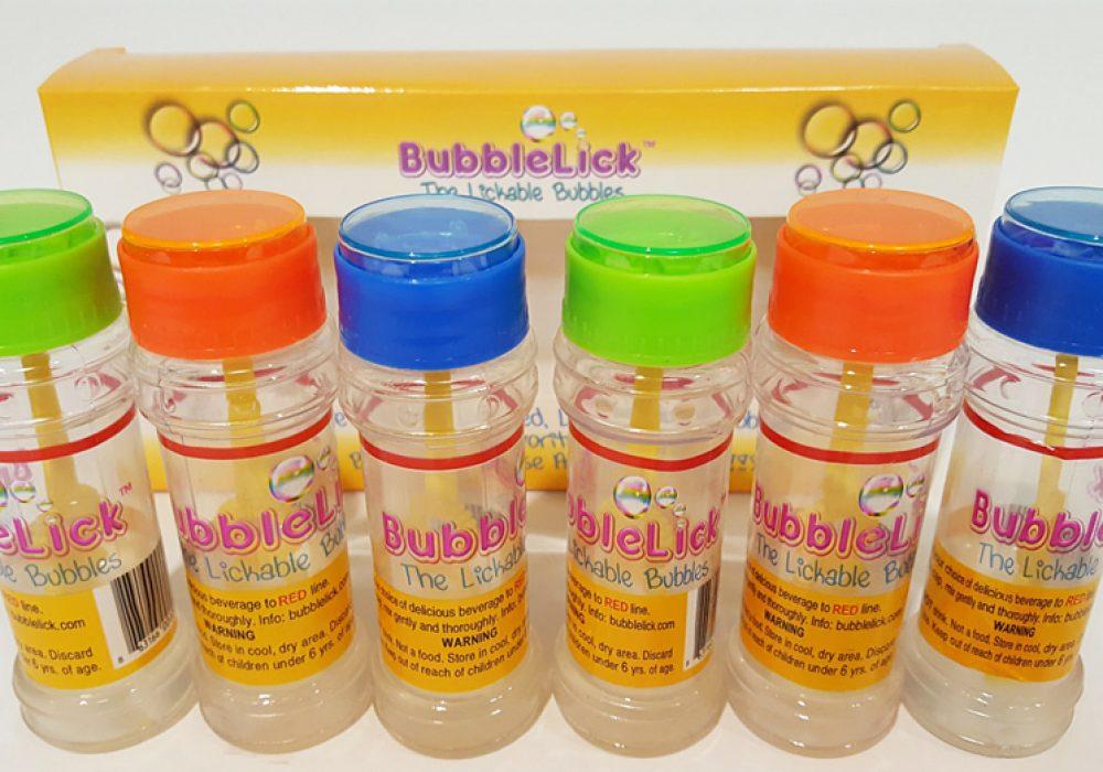 Bubble Lick Edible Blow Bubbles Cool Novelty Item