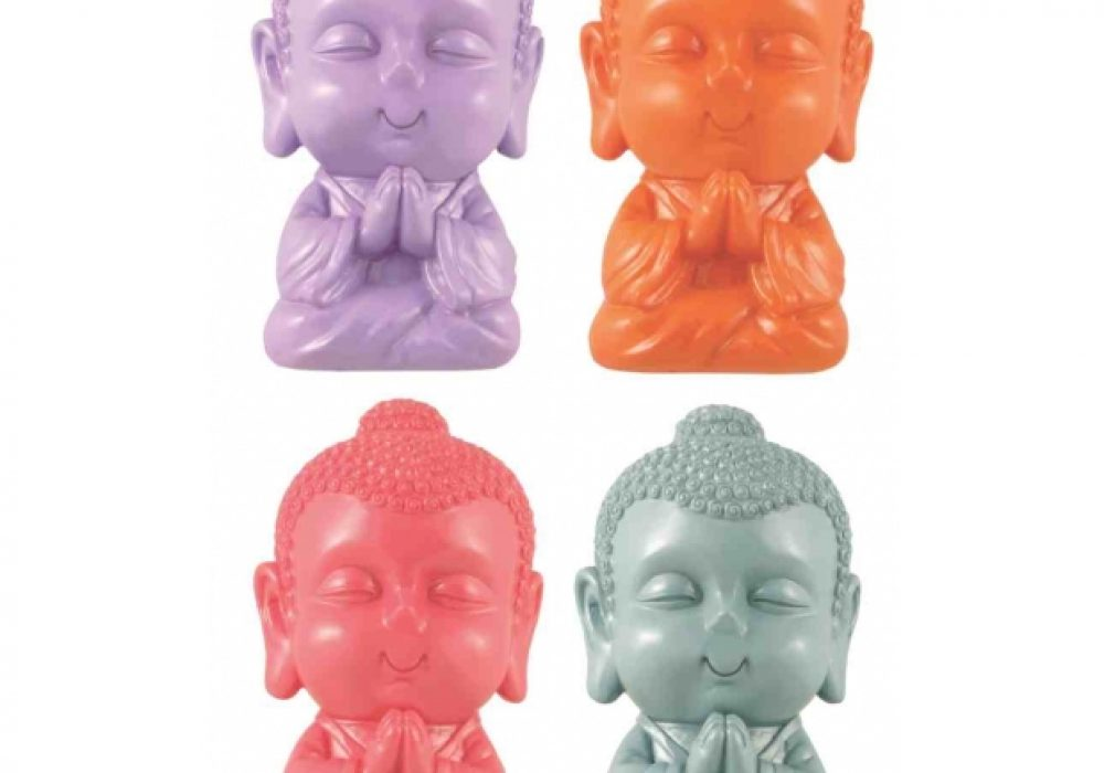 Buddha Money Bank Assorted Colors