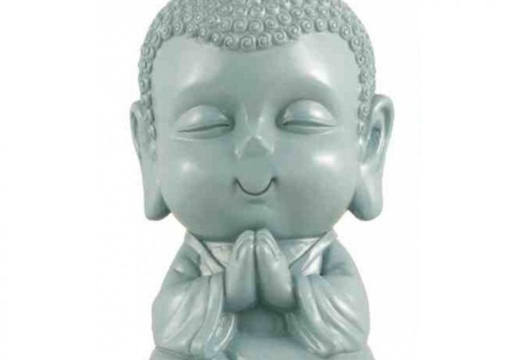 Buddha Money Bank  Gray