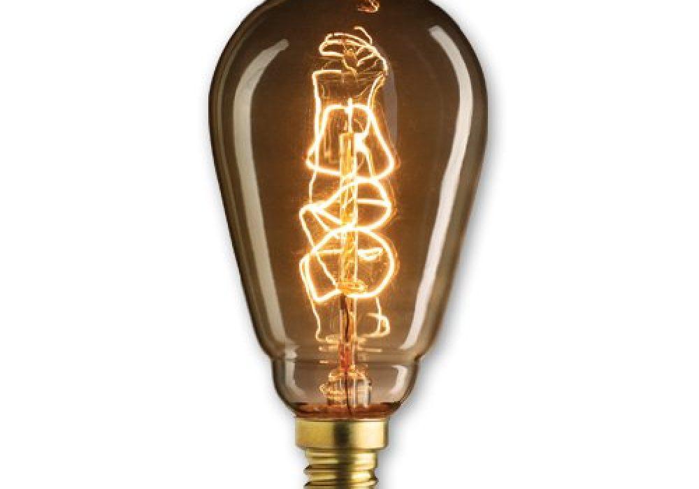 Bulbrite NOS25ST15E12 25-watt Nostalgic Edison ST15 Incandescent