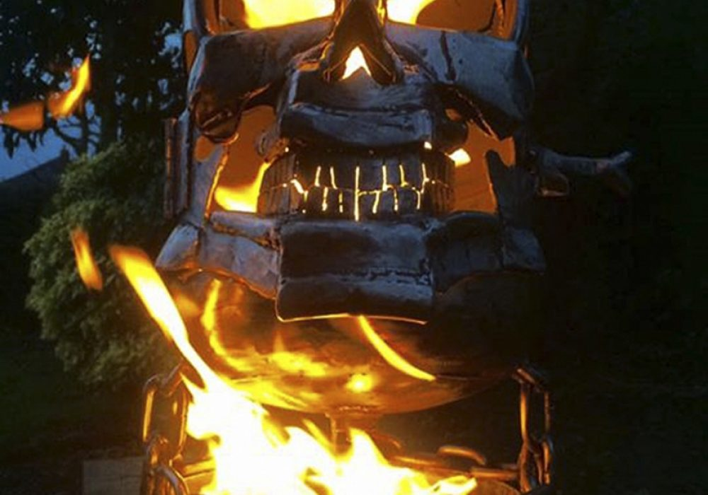 Burned By Design Ghost Rider Fire Pits Novelties