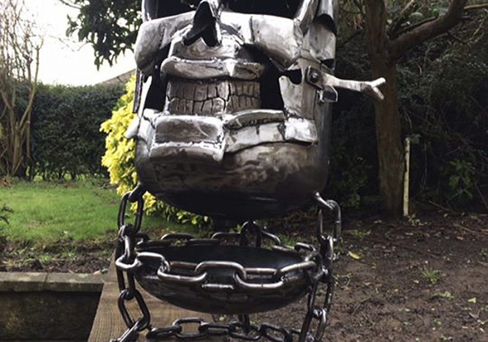 Burned By Design Ghost Rider Fire Pits Novelty