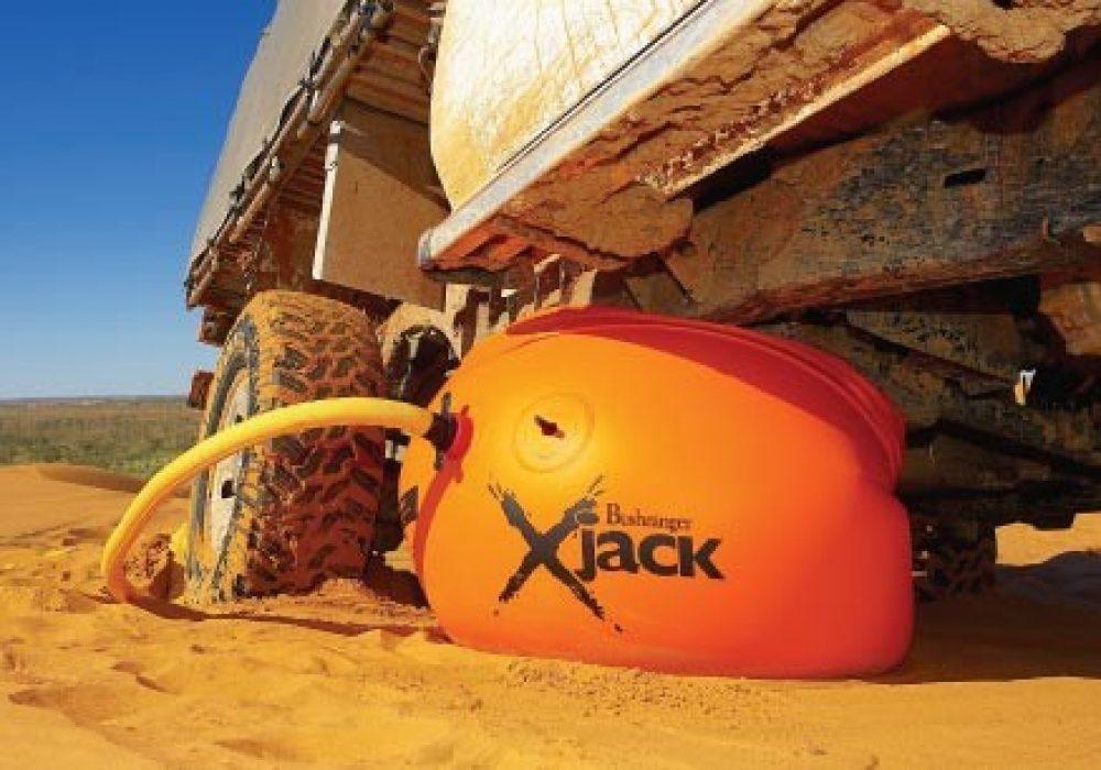 Bushranger X-Jack Arb Recovery Gear Orange Inflatable Jack Sand Dunes Lift Car