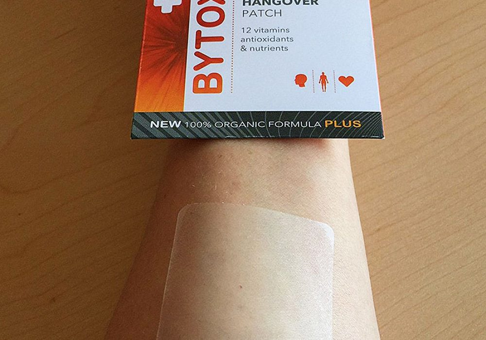 Bytox Hangover Patch Cure