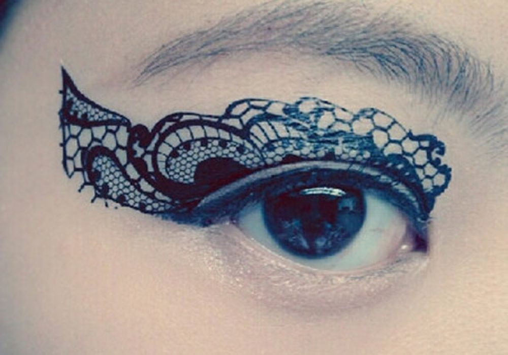 CCL Store Temporary Tattoo Sticker Eye Makeup Eyeshadow Festive Design