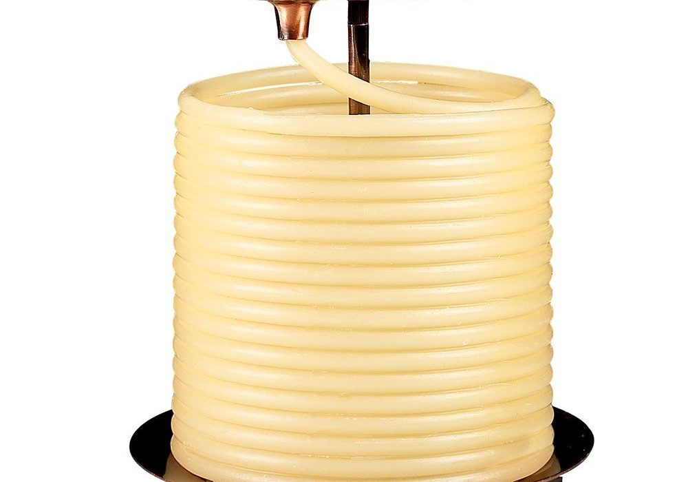 Candle by the Hour 144-Hour Candle Vintage Design