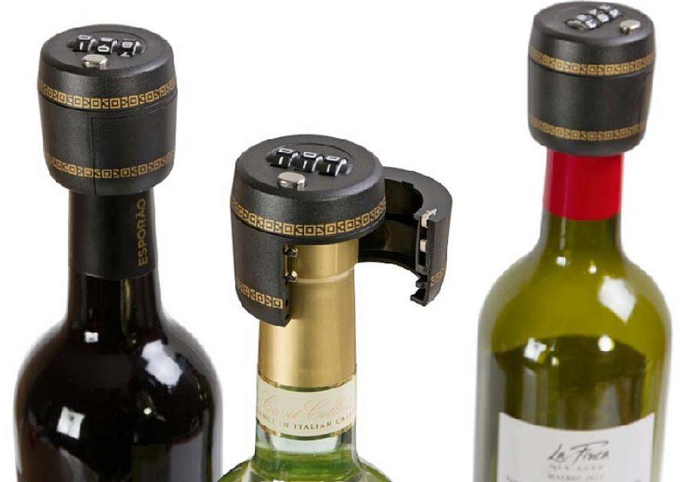 Carteret Collection Wine Combination Lock Bottle Lock