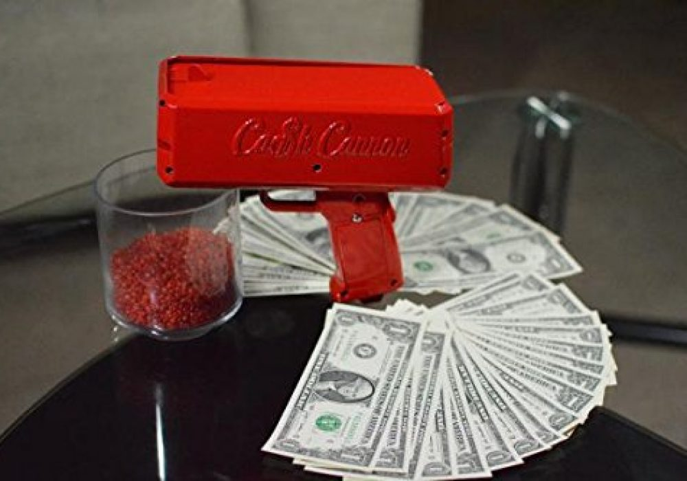 Cash Cannon Cool Gift Idea to Buy