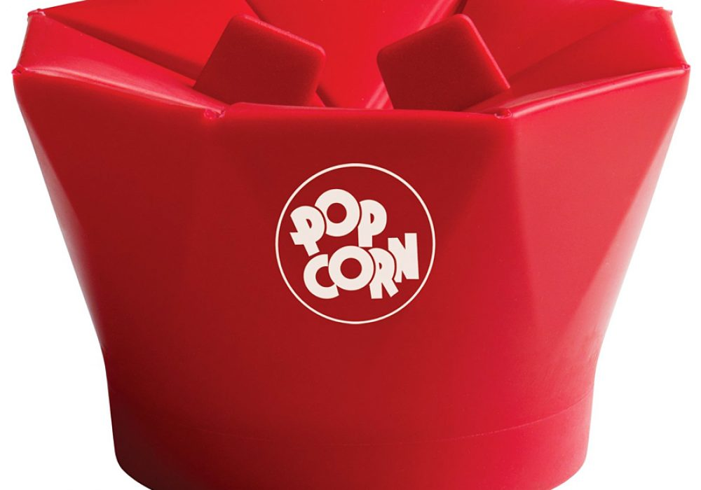 Chef'n PopTop Microwave Popcorn Popper Easy to Use Item