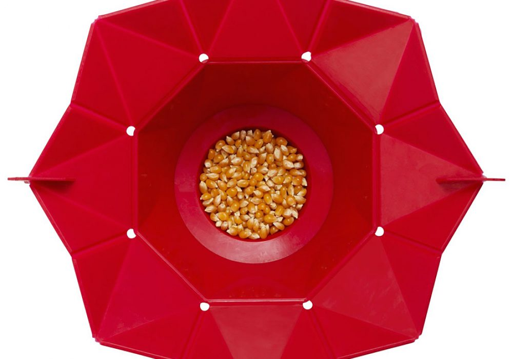 Chef'n PopTop Microwave Popcorn Popper Nicely Desigined Poppers