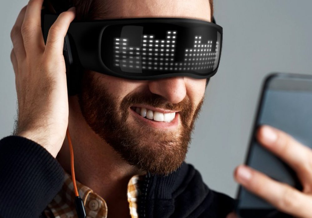 Chemion Creative Eyewear Smart LED Glasses