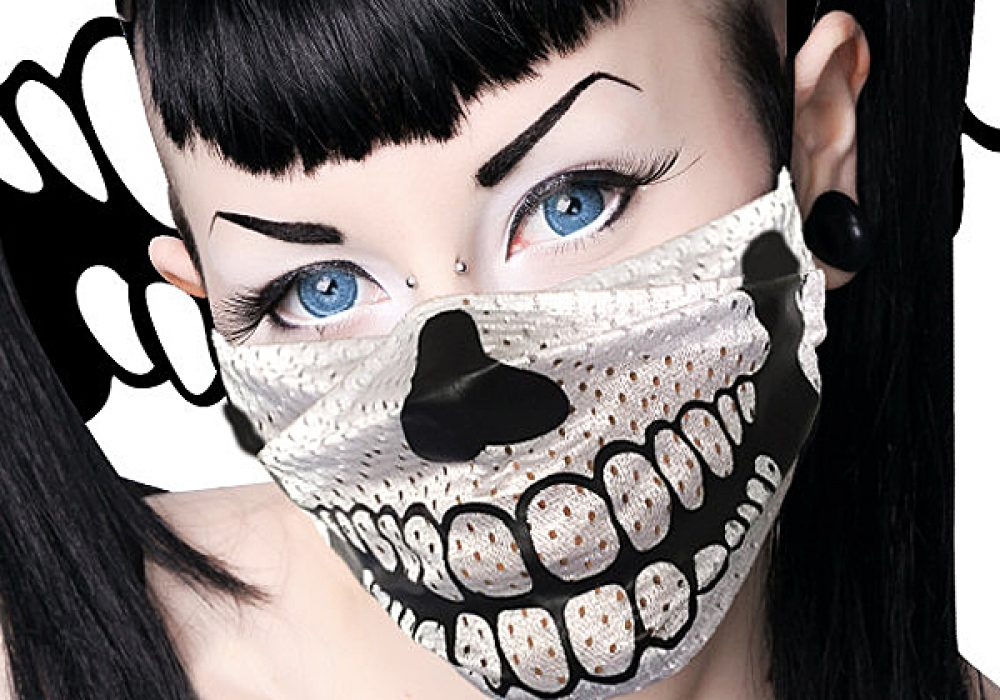 chill-pill-club-wear-skull-surgical-mask-goth-style-for-raves