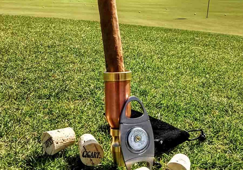 Cigart Metalworks Ultimate Golf and Cigar Package Handmade Products