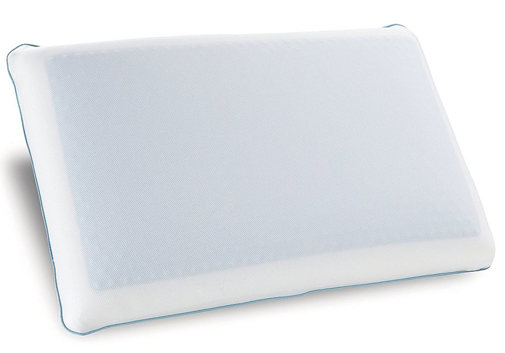 Classic Brands Reversible Cool Gel Memory Foam Pillow Washable Cover