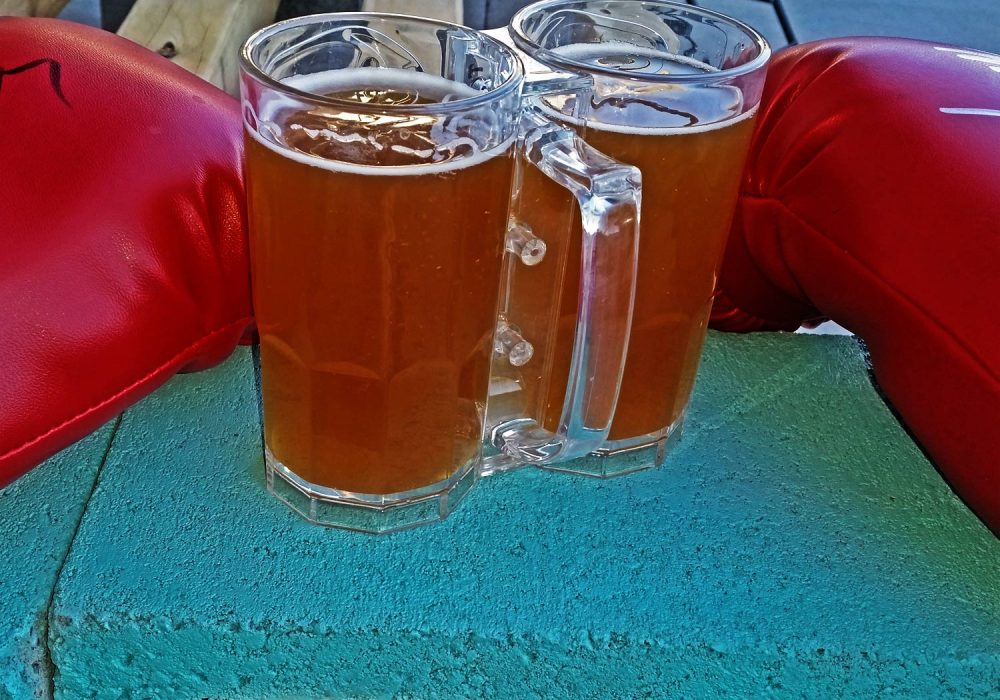 Two-Fisted-Drinker-Clear-Mug
