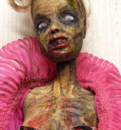 Club Girl Zarbie Zombie Barbie Doll