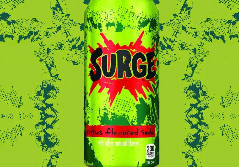Coca Cola Surge Soda Cool Gift Idea to Buy