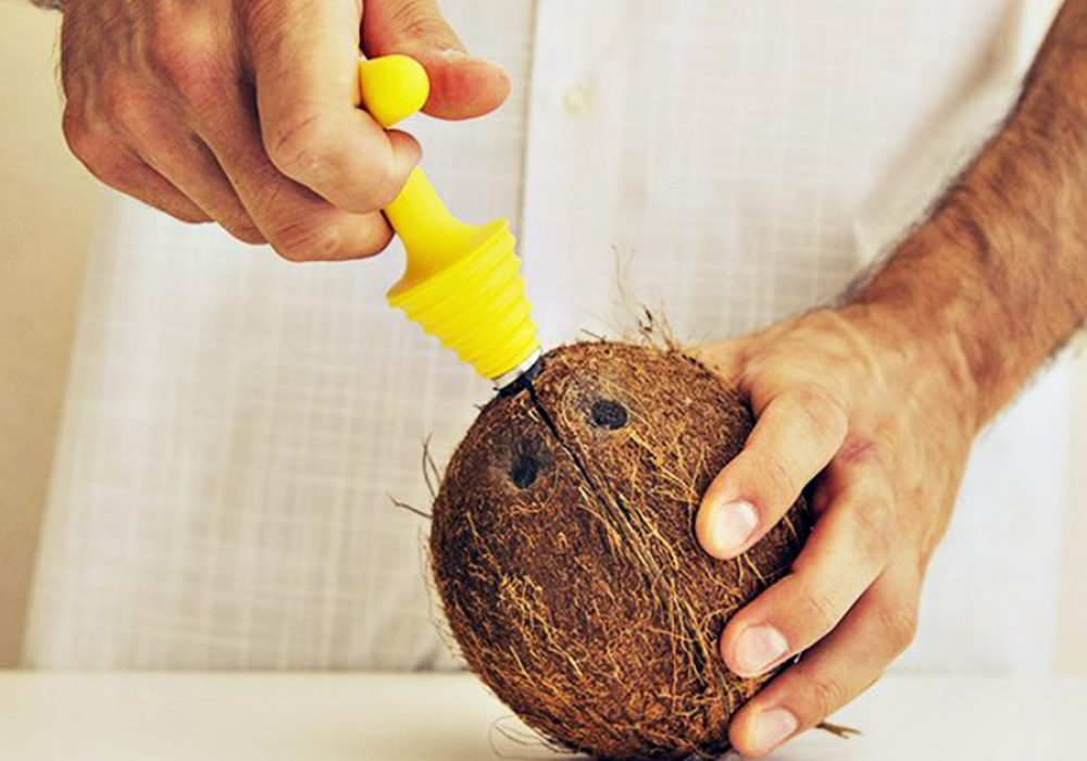 Cococrack Coconut Opener and Cutter Kitchen Tool