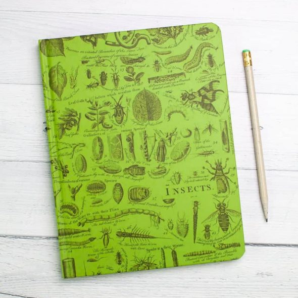 CognitiveSurplus Insect Hardcover Notebook