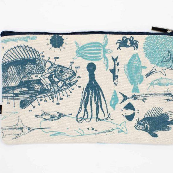 CognitiveSurplus Marine Biology Pencil Case