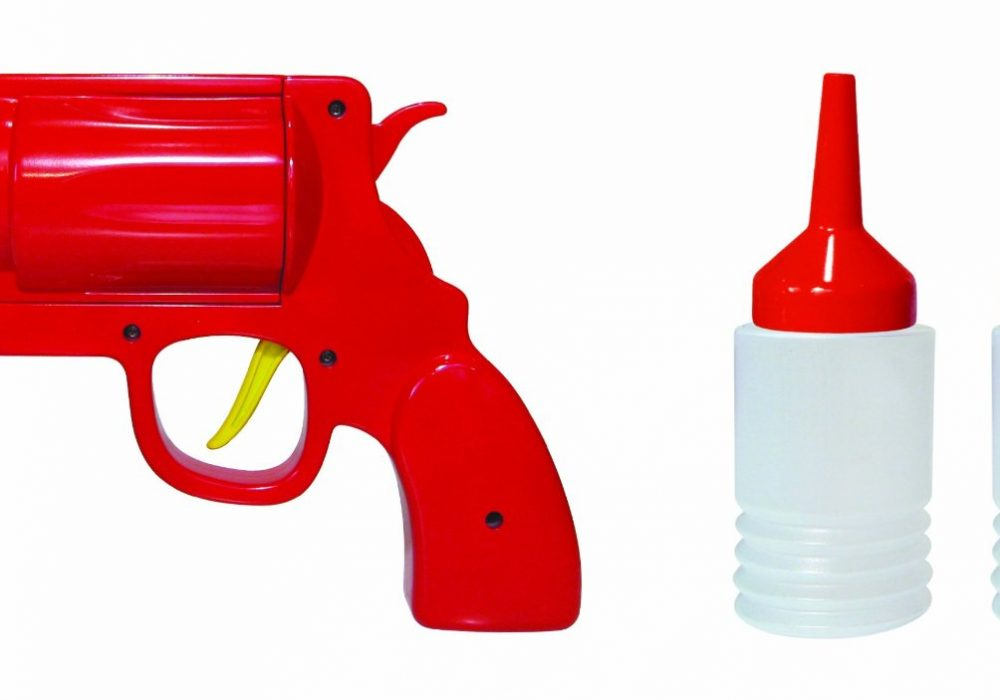 Condiment Gun Novelty Item