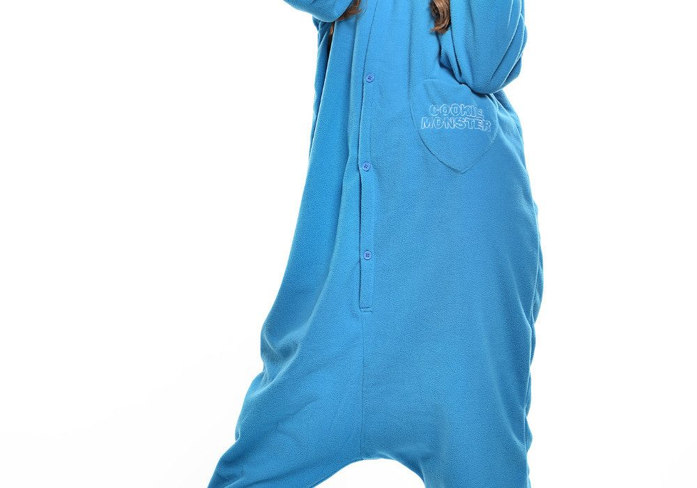 Cookie Monster Unisex Adult Pajama Cool Stuff to Buy Her