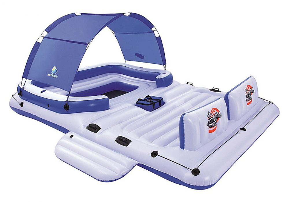 CoolerZ Tropical Breeze Inflatable Floating Island Water Sports