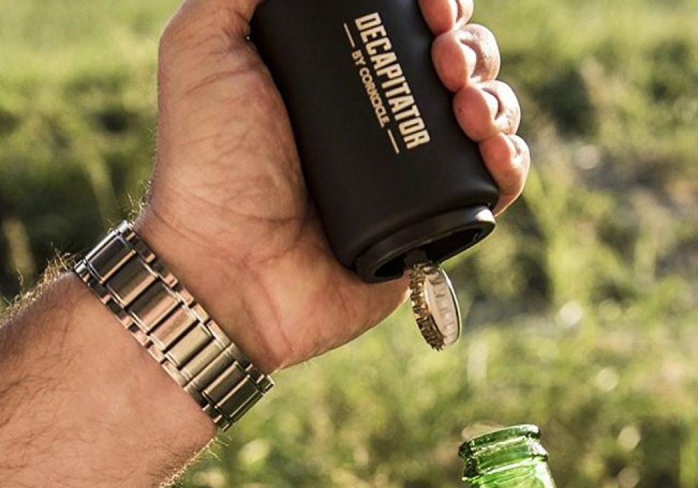 Corkcicle Decapitator Bottle Cap Opener Gift Idea