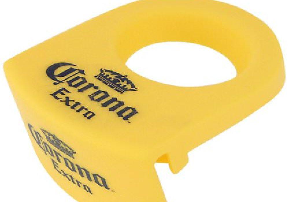 CoronaRita Drink Clips Yellow Beer Bottle Holder