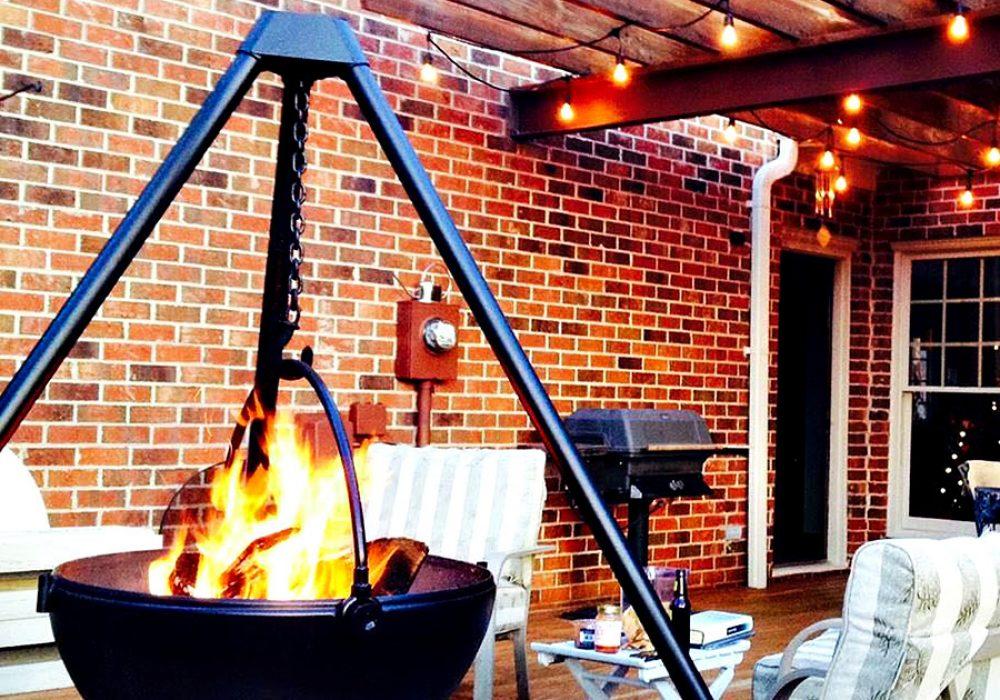 Cowboy Cauldron The Wrangler Fire Pit