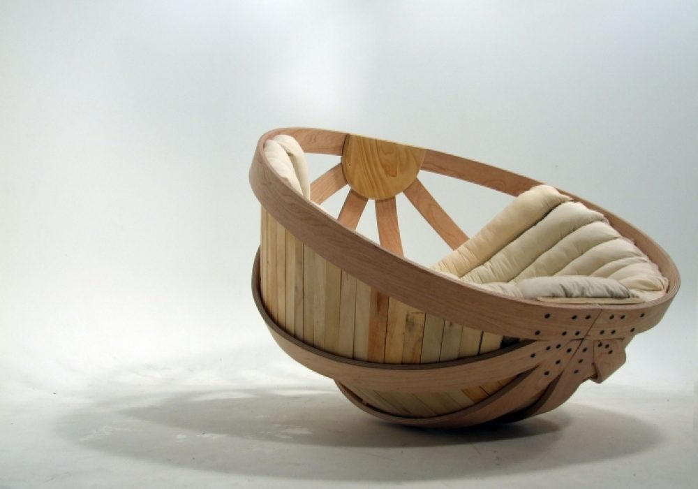 Cradle Chair By Richard Clarkson Bowl Inspired Designer Chair
