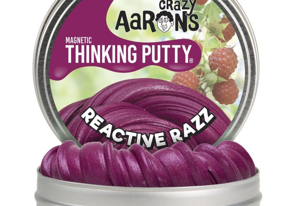 Crazy Aarons Thinking Putty Pink Magnetic Slime