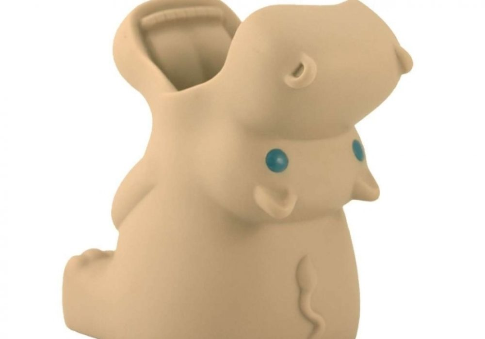 Cream Guardian Hold All Hippo