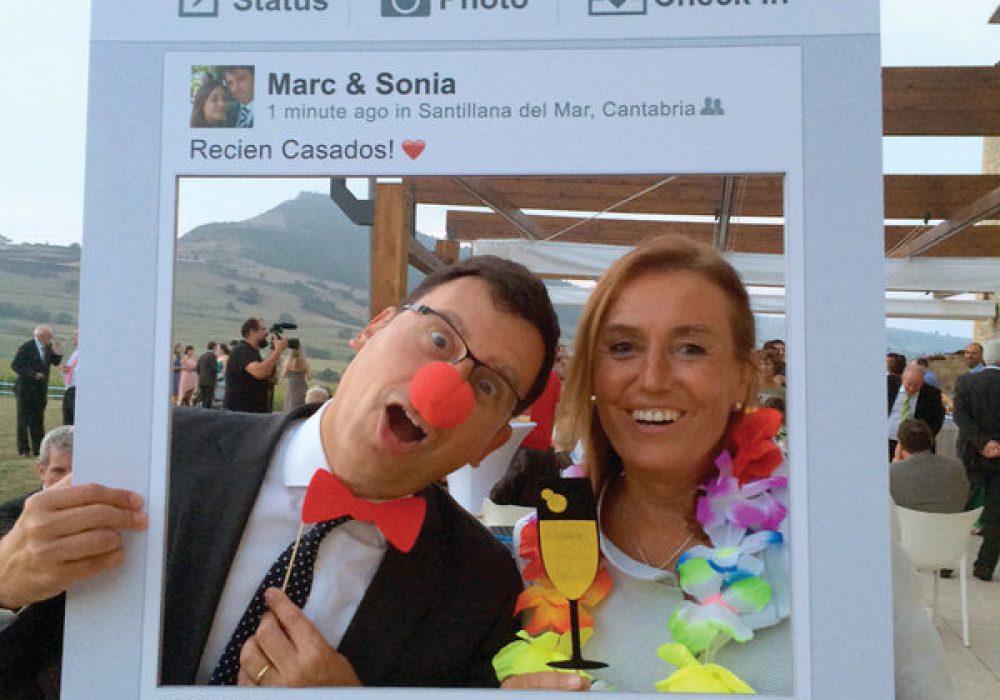 Creative Union Design Social Networking Photo Prop Clown Facebook Profile