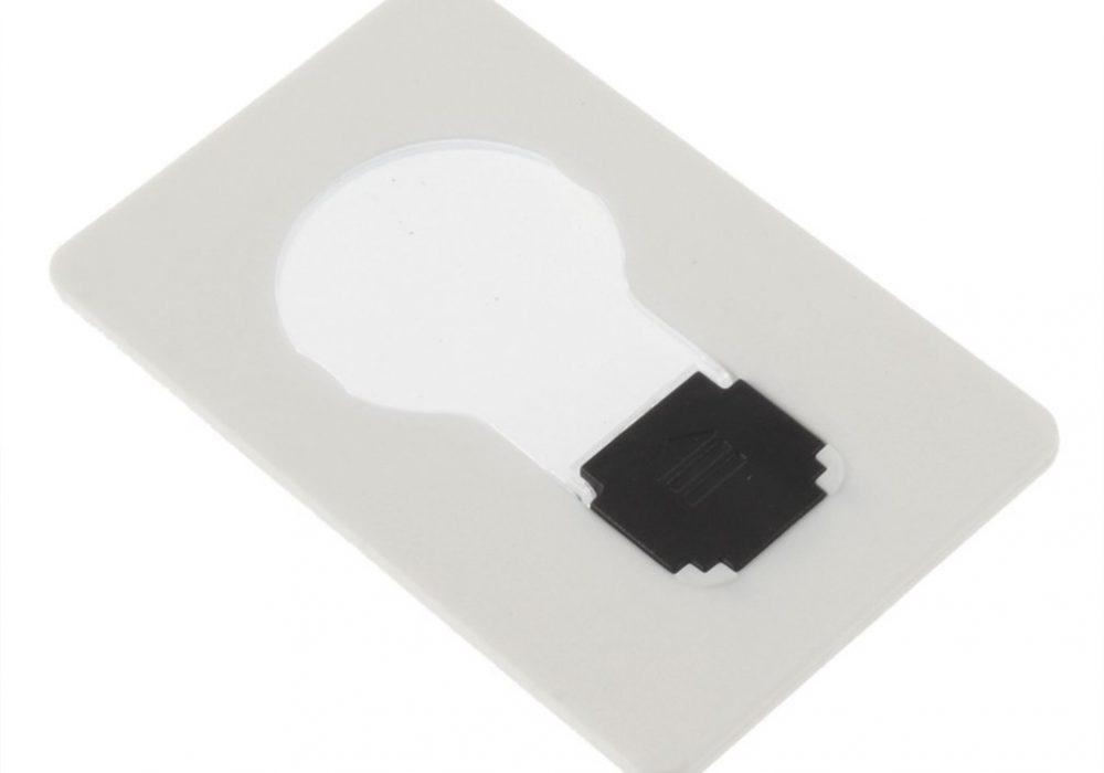 Credit Card Lightbulb Cool Gift Idea
