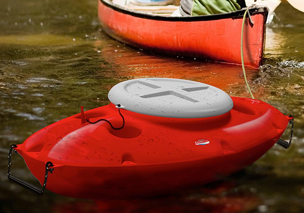 CreekKooler Floating Cooler Towable