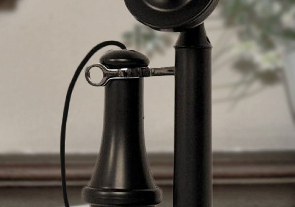 Crosley Candlestick Phone Black Classic Cool Vintage Technology to Buy
