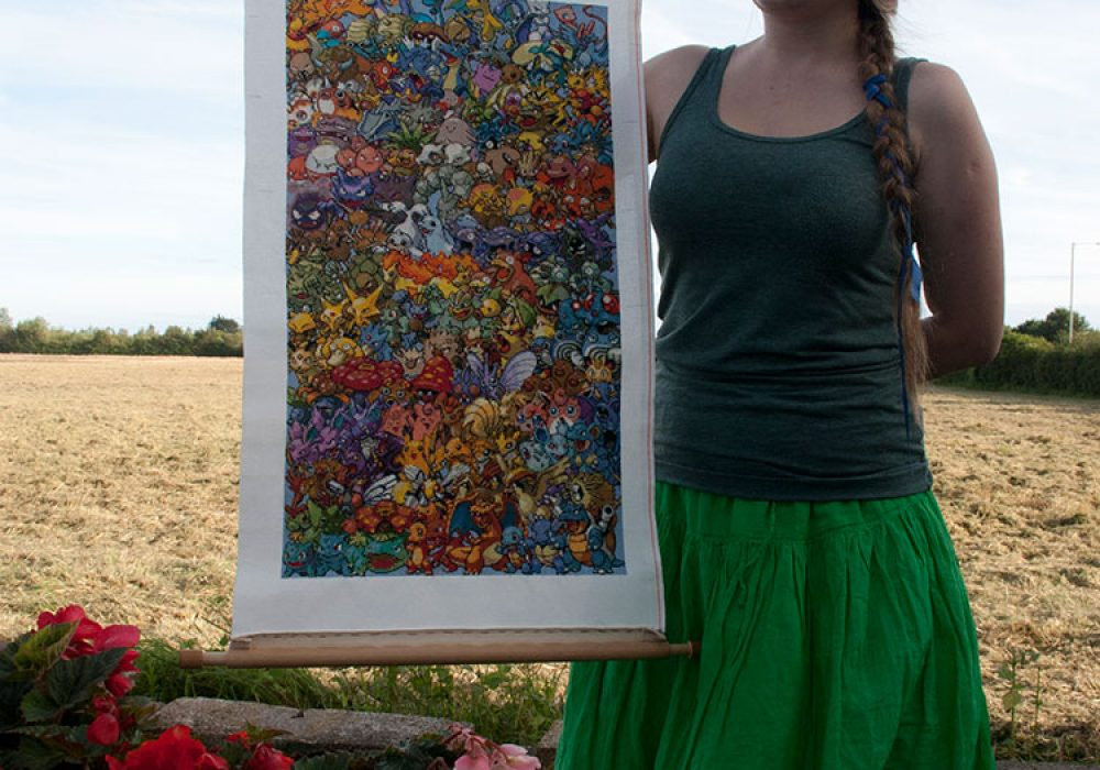 Cross-stitched Pokemon with Linda Awesome Handmade Craft